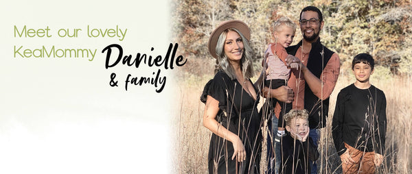 Danielle Mazon and Family
