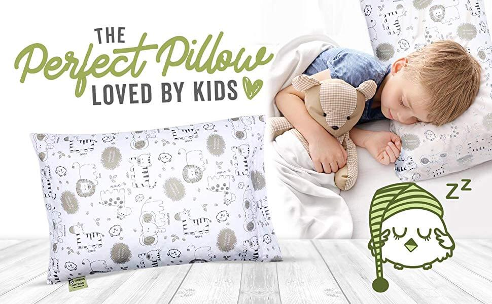 KeaBabies Hypoallergenic Toddler Pillow