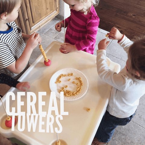 cereal tower