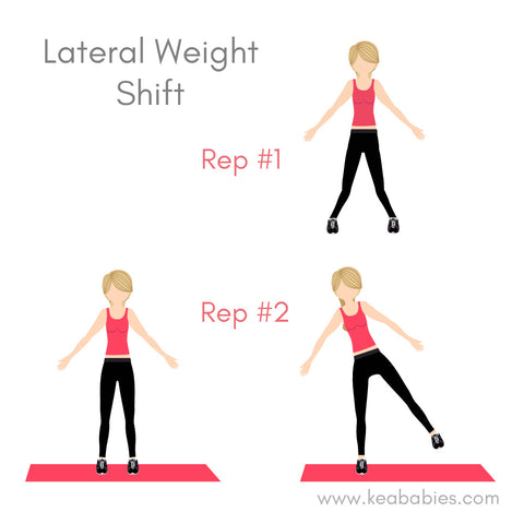 lateral weight shift