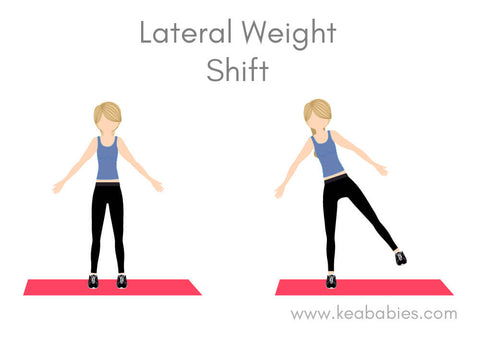 postpartum lateral weight shift