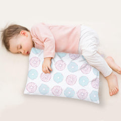travel pillow with cotton case for toddler
