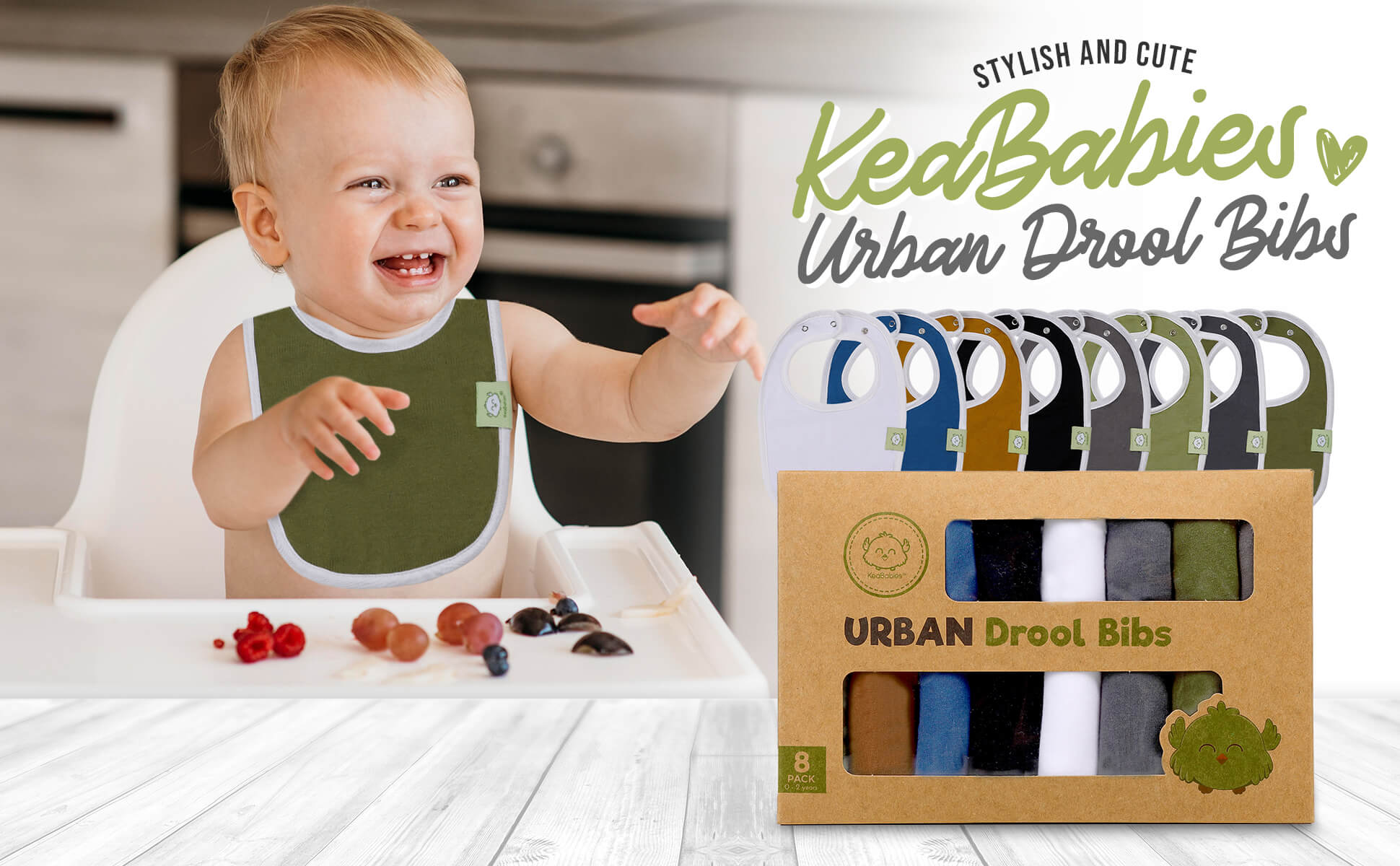 Handle Drooling With Ease: URBAN Drool Bibs