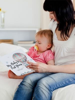 baby first memory book
