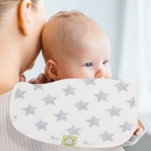 full coverage baby burpcloths