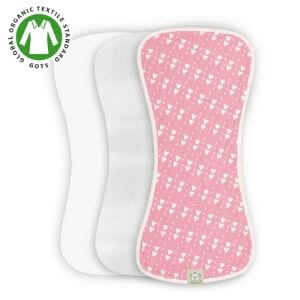 3 layer burpcloths for baby
