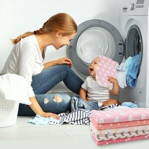 laundry safe burpcloths for baby
