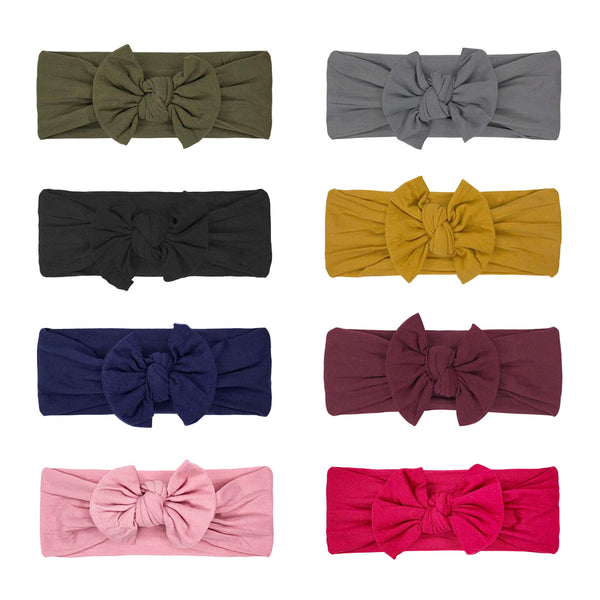 Baby Headbands and Bows For Girls (Horizon)