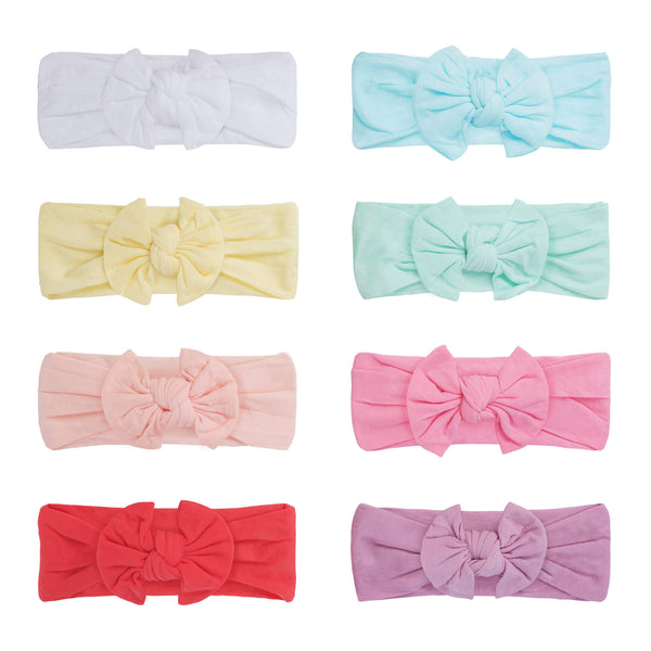 Baby Headbands and Bows For Girls (Sweet Pastel)