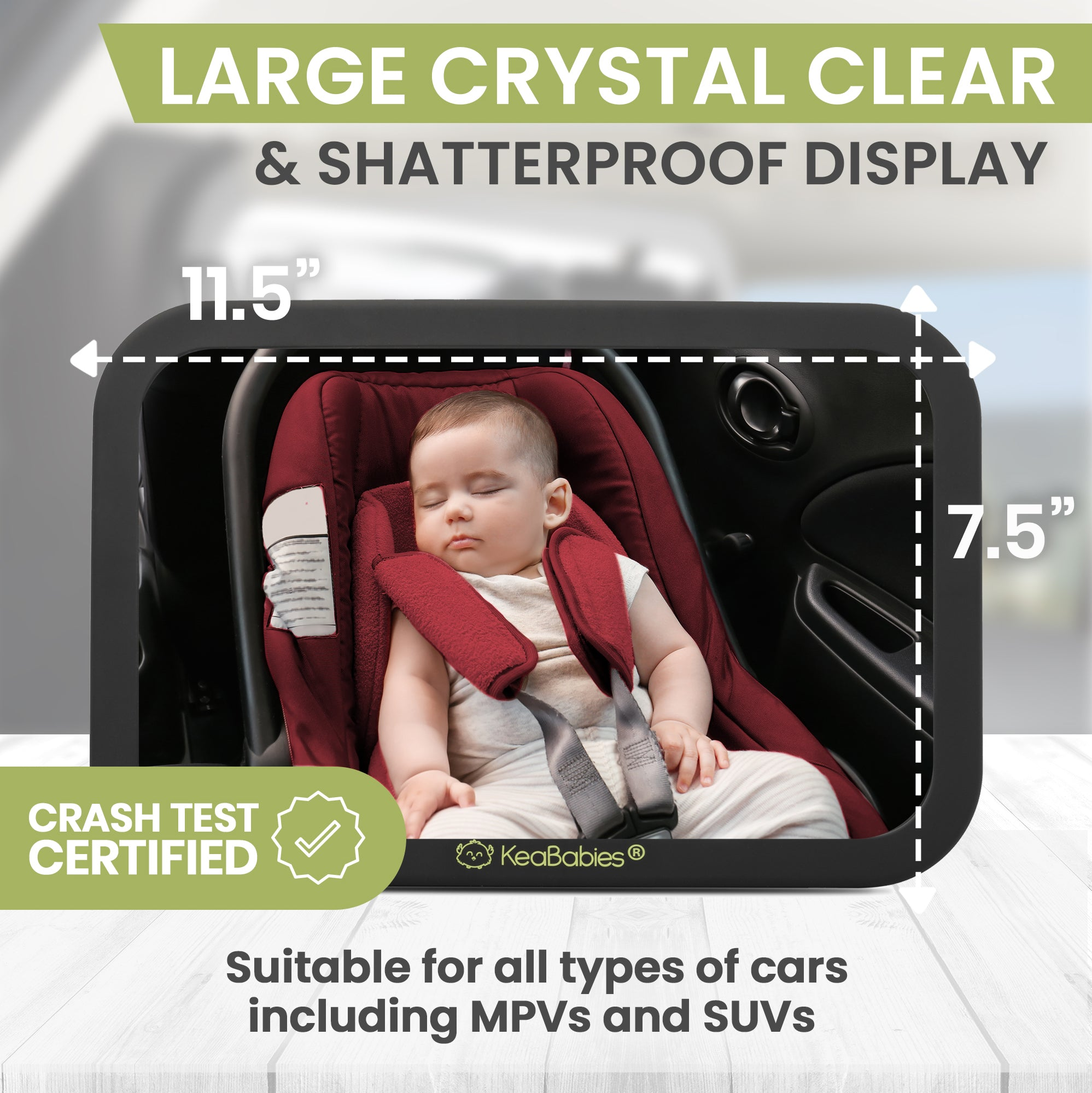Baby Car Mirror For Rear Facing Infant Car Seat