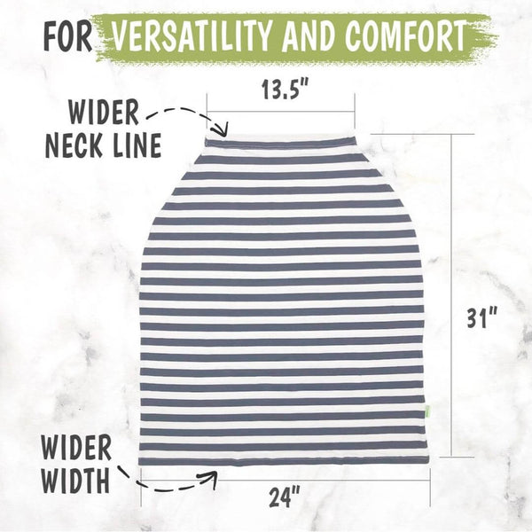 Carseat Canopy - Nursing Cover (BFF Gray)