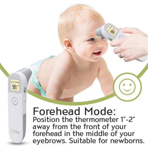 Baby Ear and Forehead Thermometer - K600i
