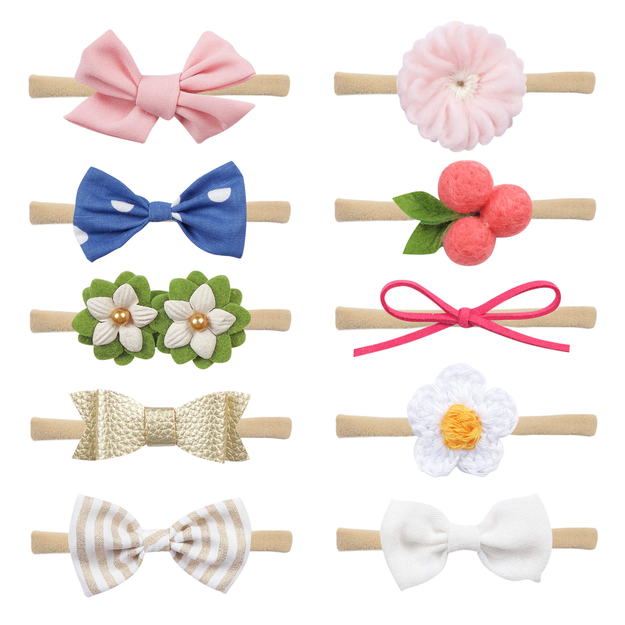 Baby Headbands and Bows For Girls