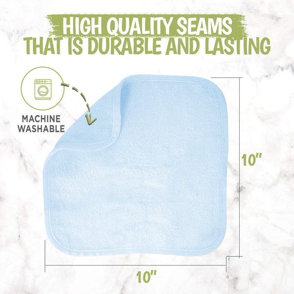 DELUXE Baby Washcloths (Bravo Blue)
