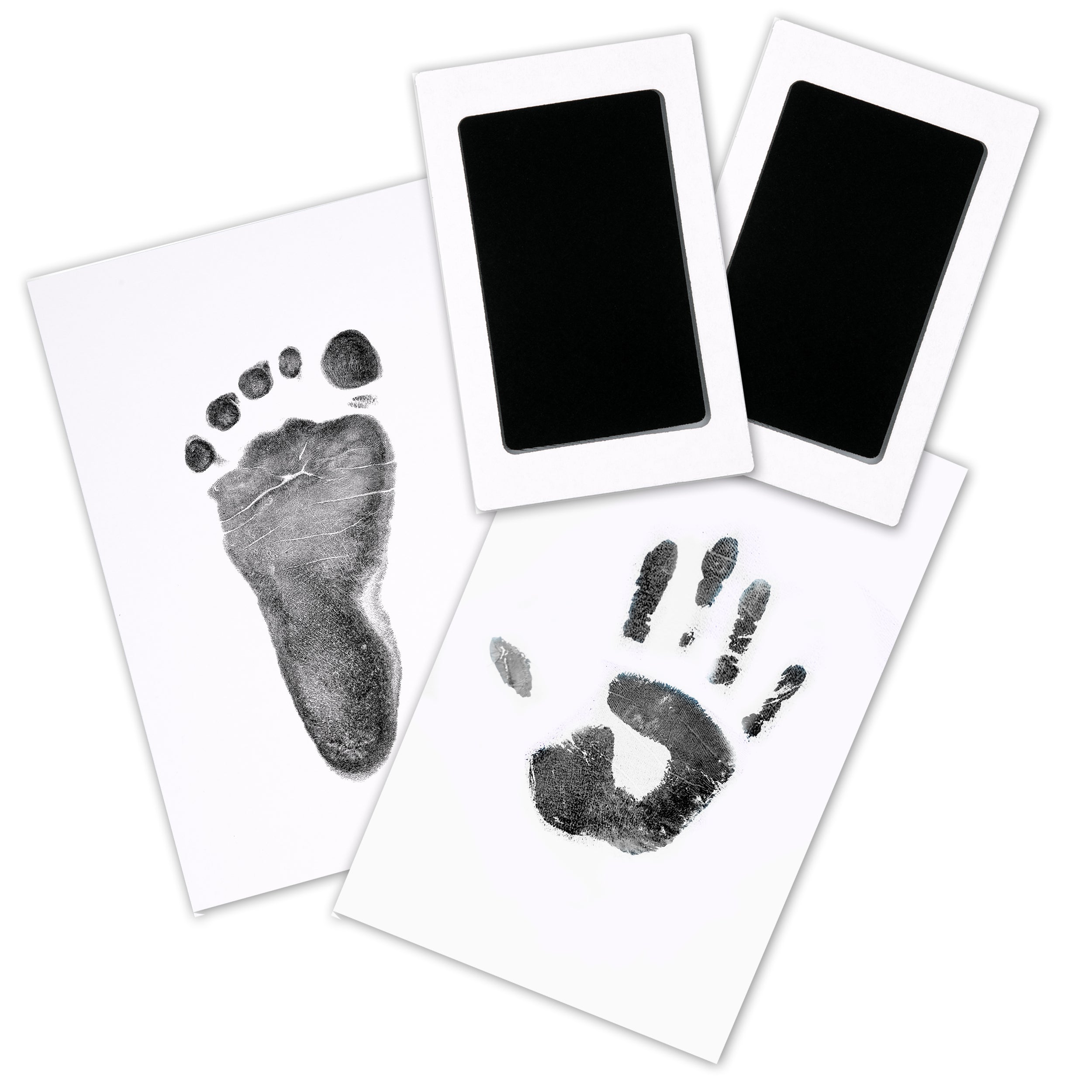 2-Pack Hand & Footprints Inkless Ink Pads