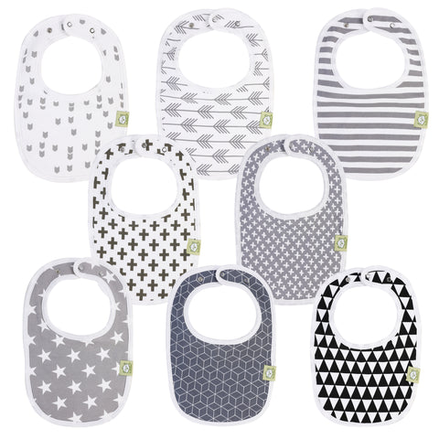 8-Pack URBAN Drool Bibs