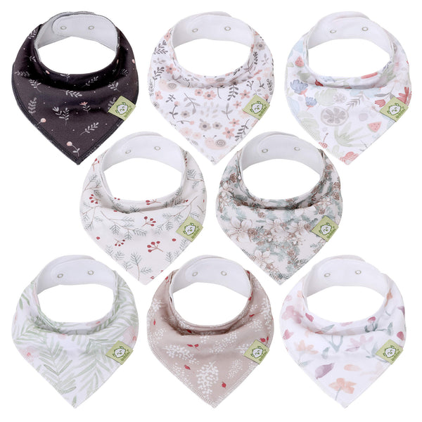Pink Bandana Bibs (Bloom)