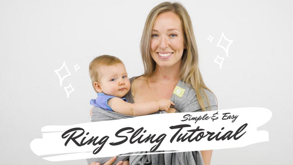 Baby Ring Sling & Wrap Carrier (Mystic Gray)