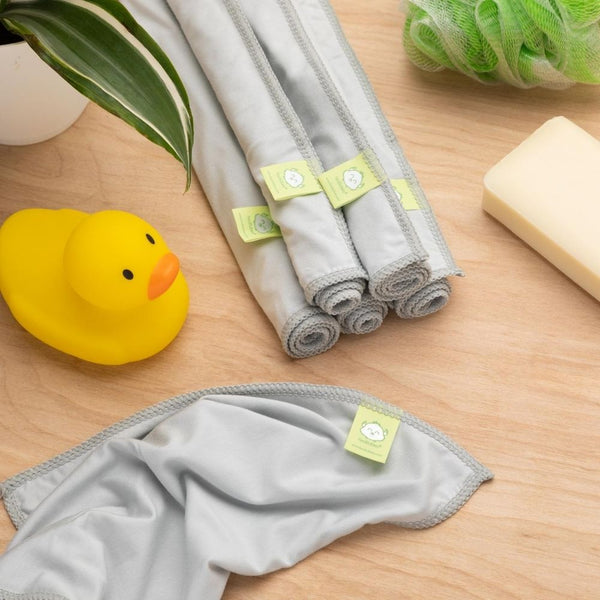 ACTIVE+ Bamboo Baby Washcloths