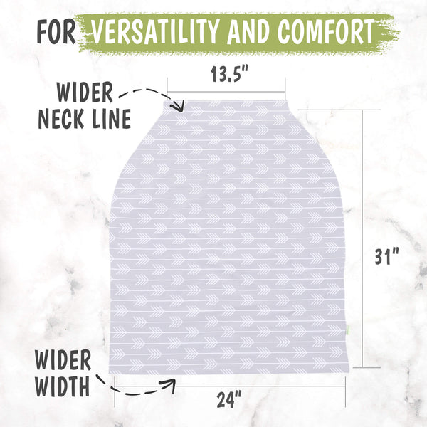Carseat Canopy - Nursing Cover (Tribal Arrow)