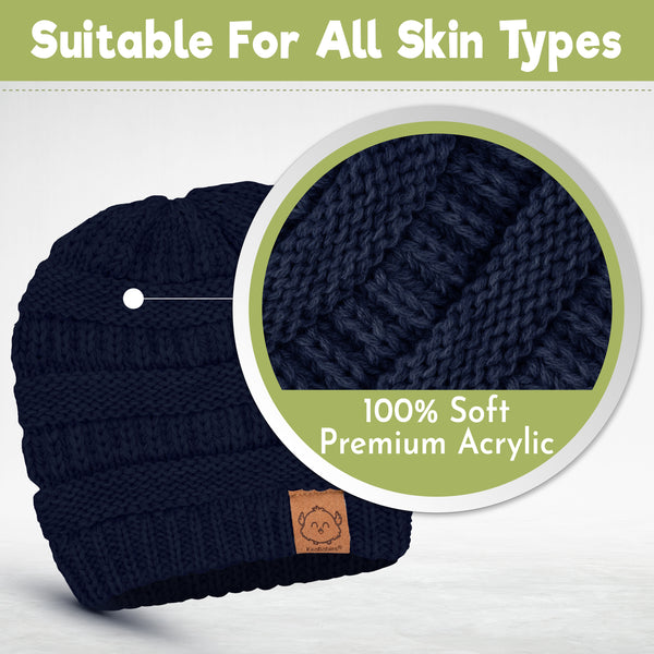 3-Pack WARMZY Baby Beanies