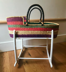Wovenology Moses Basket on a Stand