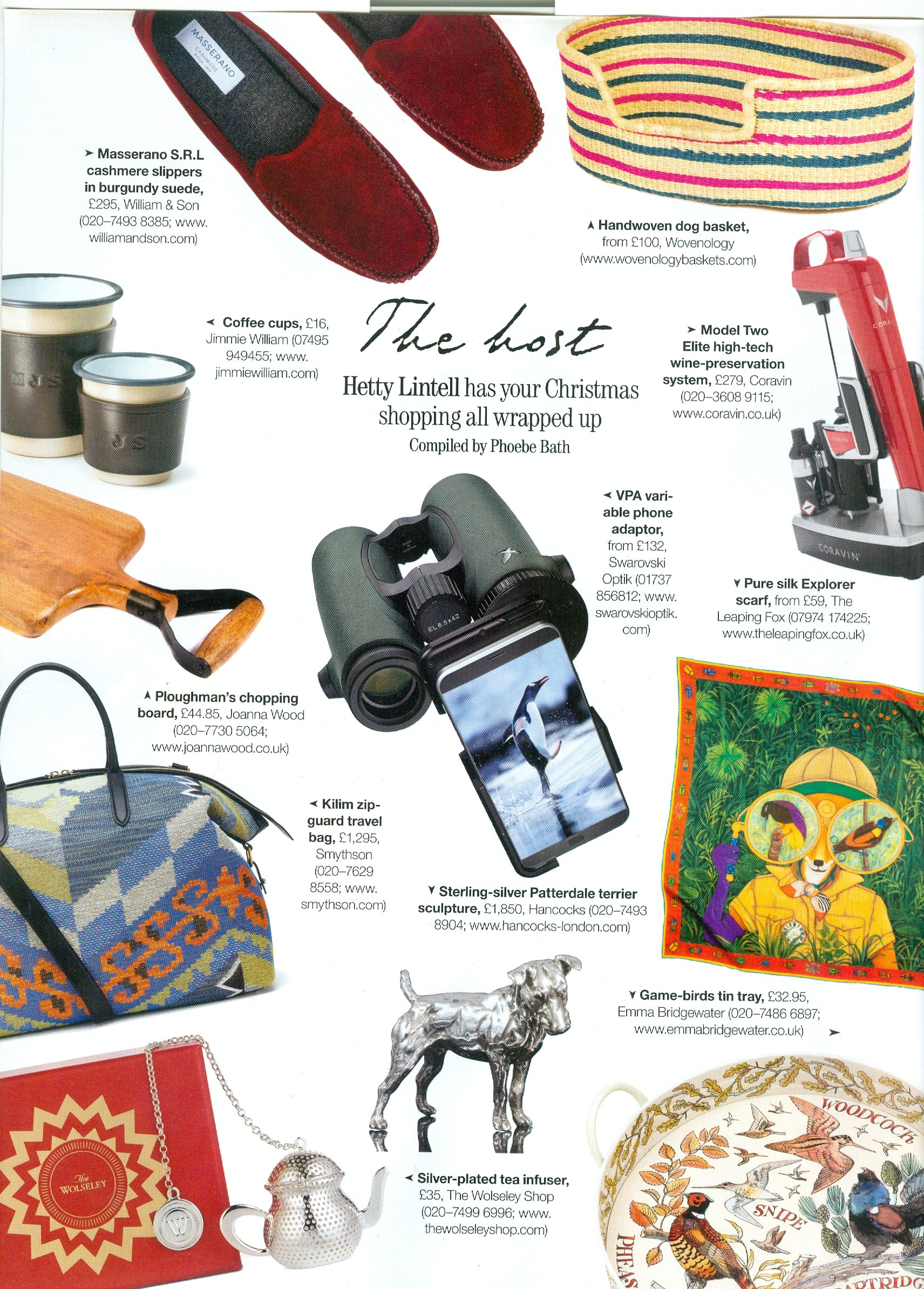 Country Life Magazine Christmas Special Gift