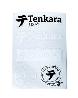 Tenkara USA Stickers (sheet of 5)