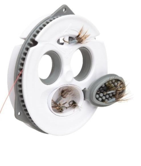 Load image into Gallery viewer, Tenkara Line and Fly Keeper by Tenkara USA. Spool to hold the tenkara line and store tenkara line and tenkara flies