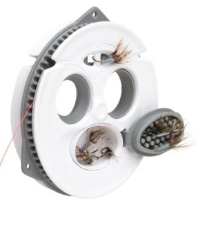 Tenkara Line and Fly Keeper by Tenkara USA. Spool to hold the tenkara line and store tenkara line and tenkara flies