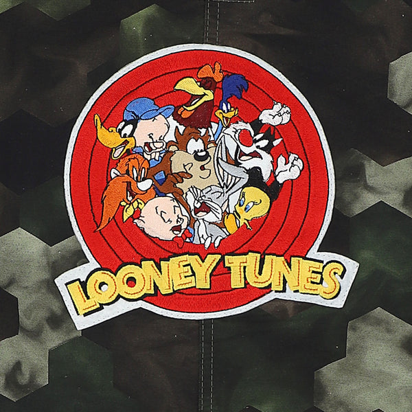 MAXI CAMICIA CAMOUFLAGE PATCH LOONEY TUNES