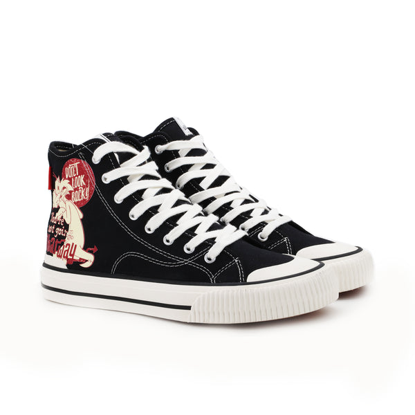 MASTER COLLECTOR HIGH-TOP GATTO SILVESTRO NERO