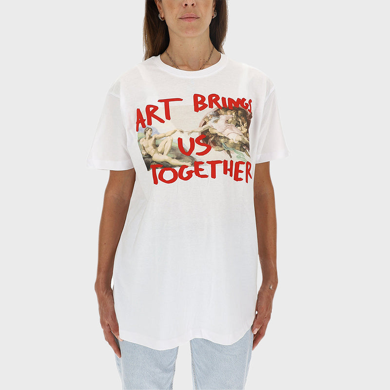 ART BRINGS US TOGETHER T-SHIRT