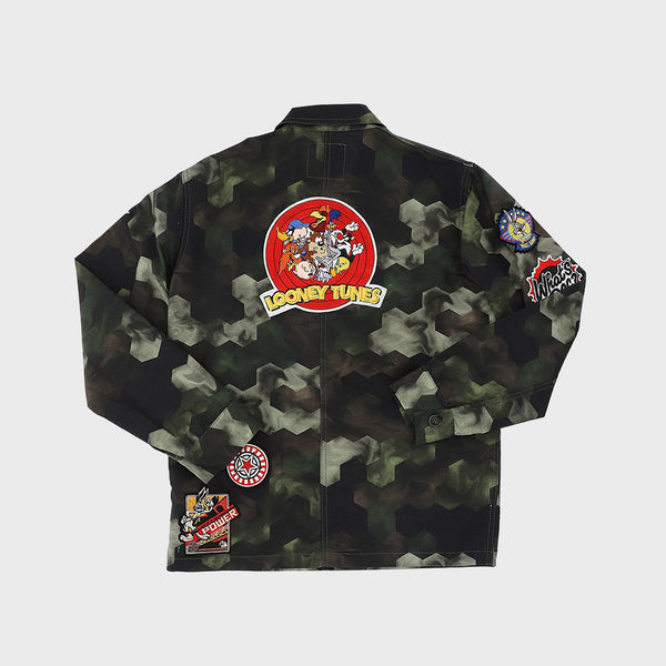 WORK JACKET CAMOUFLAGE PATCH LOONEY TUNES