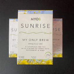 MYOB <br> Sunrise CBD Tea Bags - Otherside