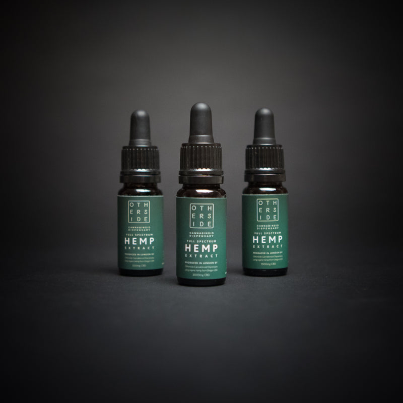 - Otherside - <br> Signature Oil Blend <br> 5% - 10% - 20% - Otherside