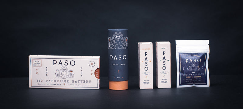 Paso <br> CBD Vaporiser Battery - Otherside