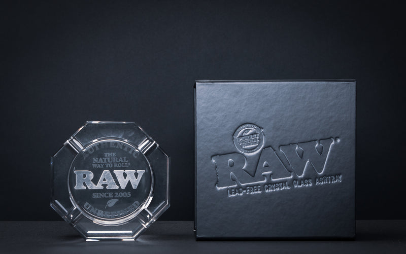 Raw <br> Crystal Ashtray - Otherside