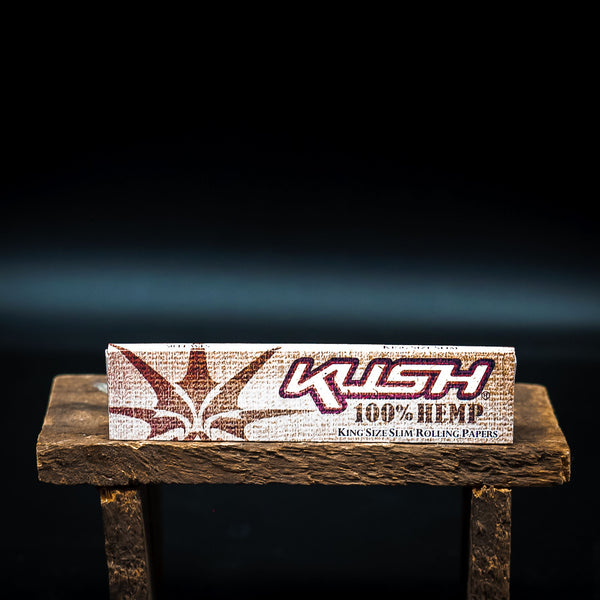 Kush <br> King Size Slim Rolling Papers - Otherside