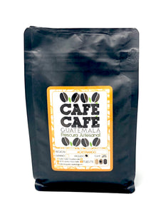 "Black Bag ""ACATENANGO"" 340gr. Roasted Coffee CAFÉ CAFÉ"