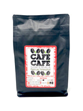 "Load image into Gallery viewer, Black Bag ""Antigua"" 340gr. Roasted Coffee CAFÉ CAFÉ"