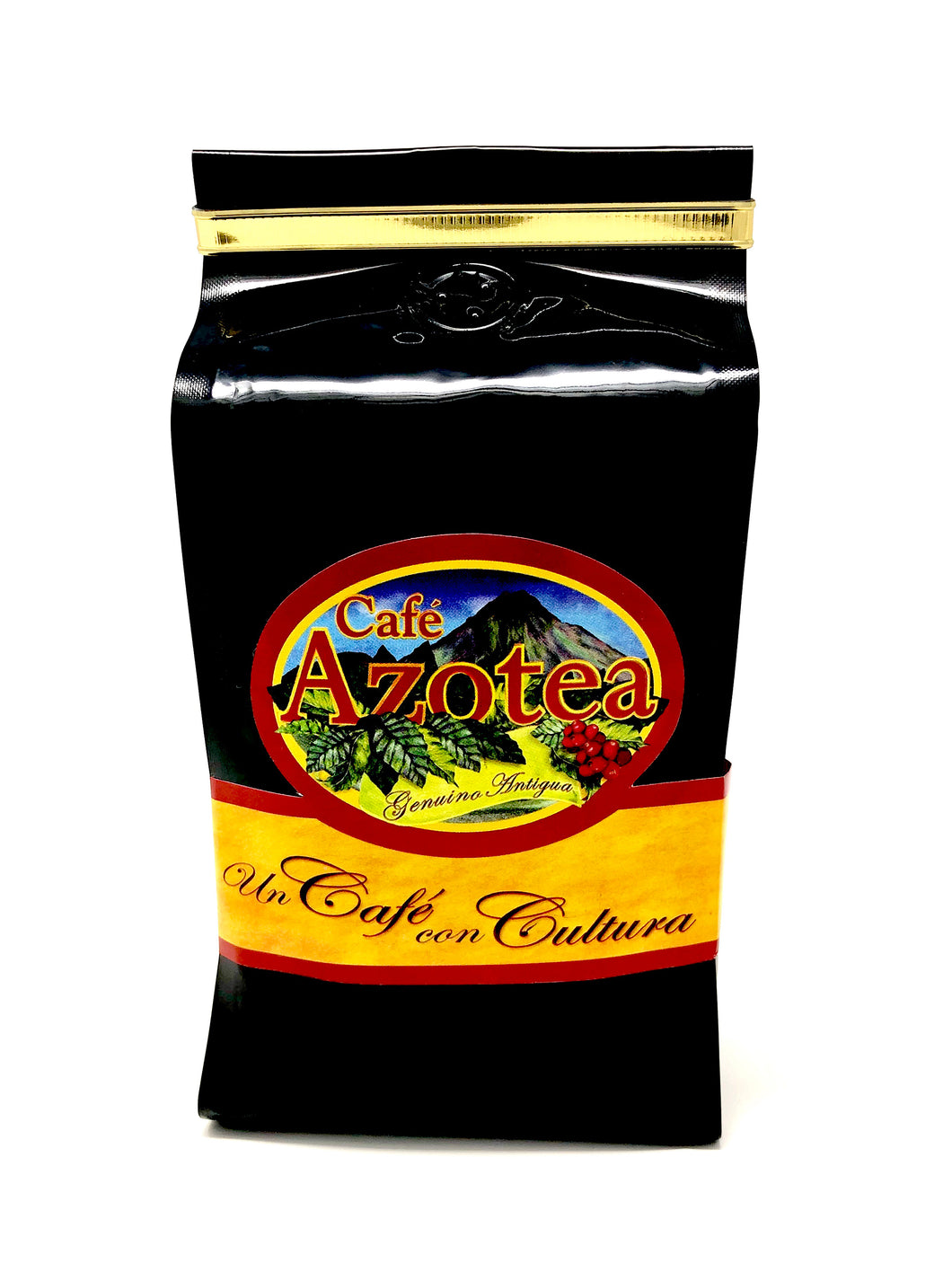 Black Laminated Bag 11.5 oz. Roasted Coffee Finca La Azotea