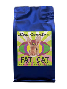 "FRONT Regular Bag ""LOS CONEJOS "" 360 gr. Roasted Coffee"