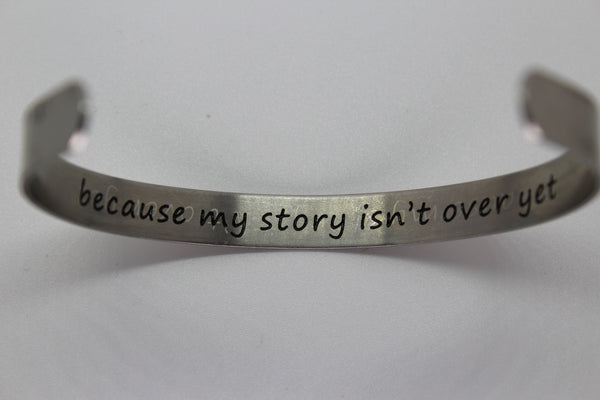 Suicide Awareness Bracelet