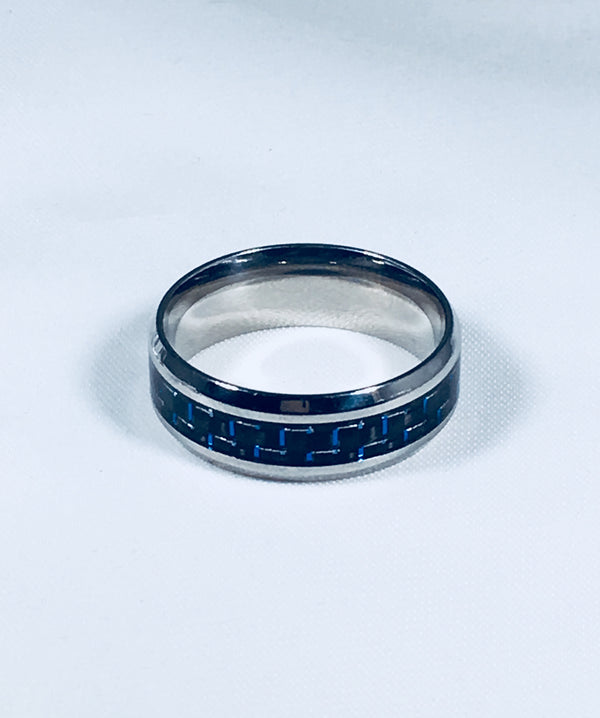 Blue detailed band