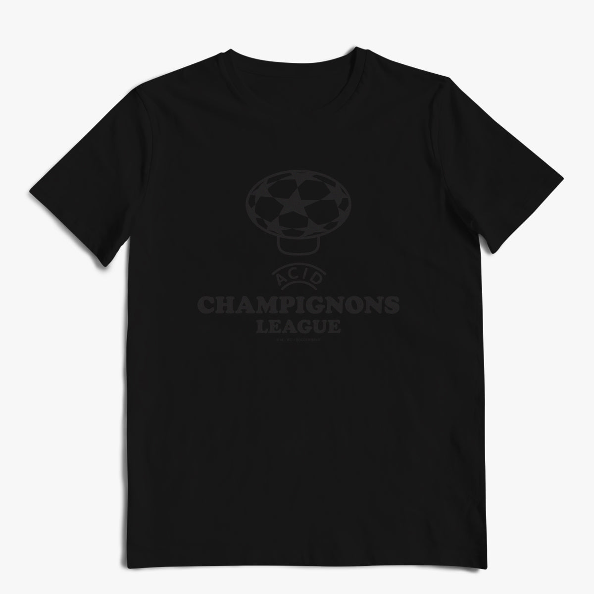 Champignons League Blackout Tee