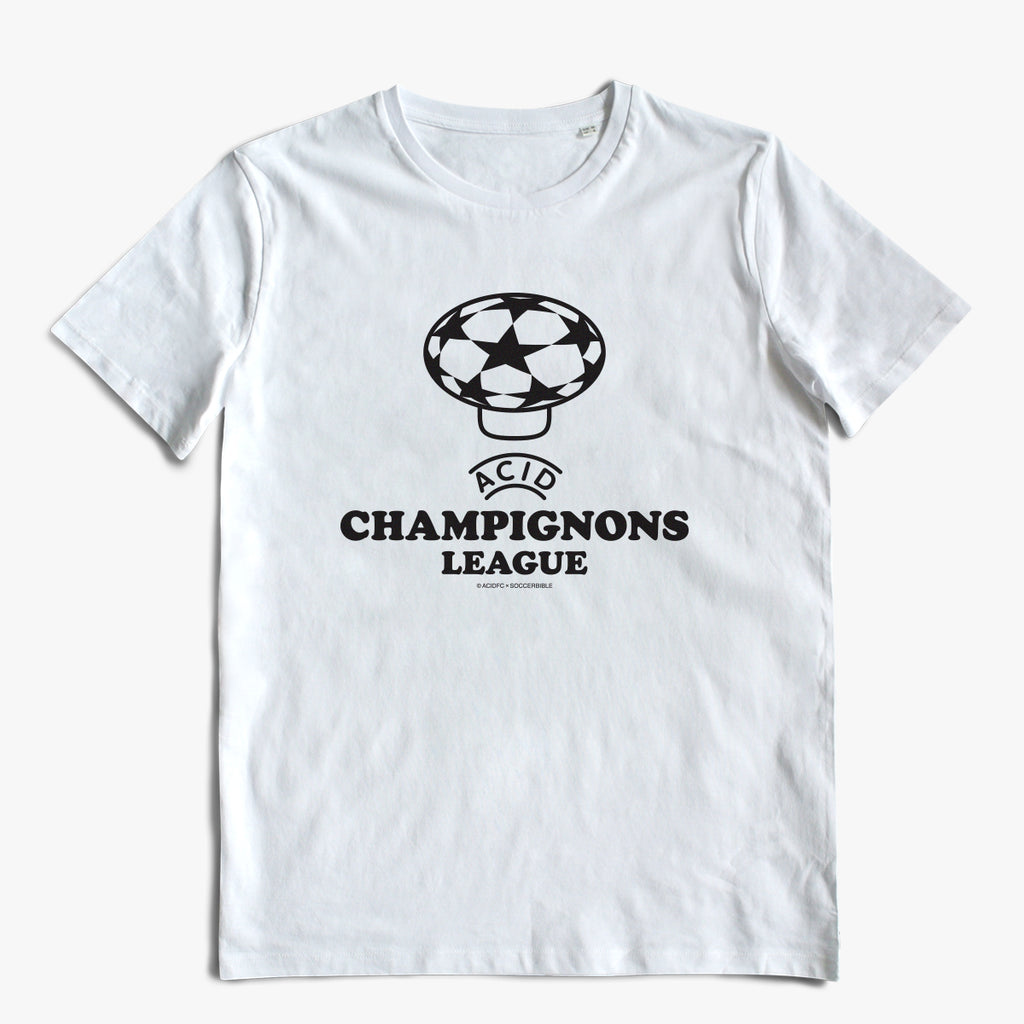 Champignons League White Tee