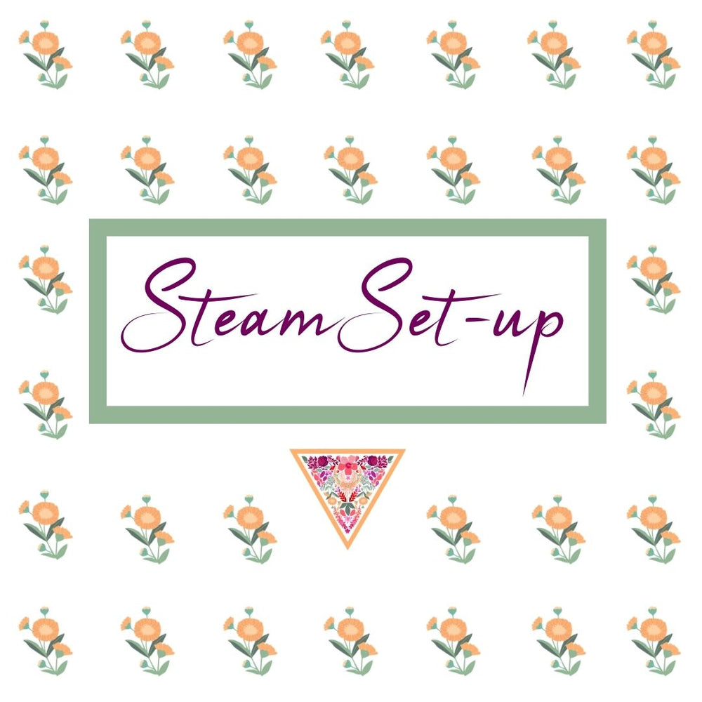 Vaginal Steam Set-up