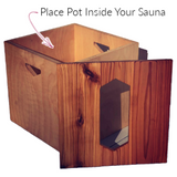 Kitara Love Yoni Steam Sauna Seat Box Vaginal Steaming Menstrual Health Care