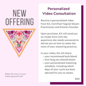 Personalized Video Consultation